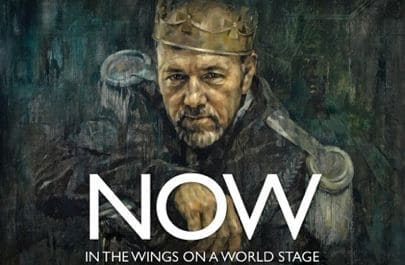 Now: In The Wings On a World Stage, documentary film starring Kevin Spacey as Richard III, directed by Jeremy Whelehan, Mr. Media Interviews