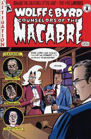 Wolff & Byrd: Counselors of the Macabre by Batton Lash, Supernatural Law cartoonist, Mr. Media Interviews