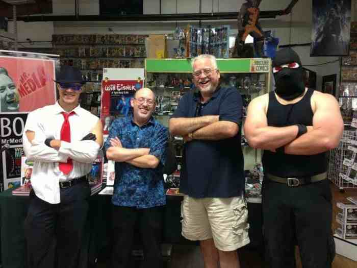 Comic book writer Chuck Dixon and Mr. Media, Bob Andelman, recorded this episode of the show live at Emerald City Comics, 4902 113th Avenue N. in Clearwater, Florida, on June 13, 2015, Mr. Media Interviews