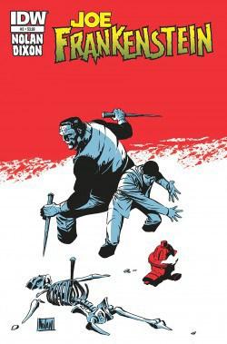 Joe Frankenstein by Chuck Dixon and Graham Nolan, Mr. Media Interviews