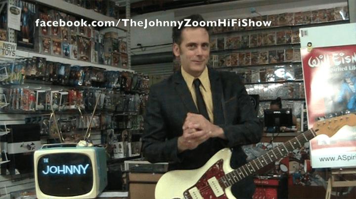 The Johnny Zoom Hi-Fi Show, Emerald City Comics, Mr. Media Interviews