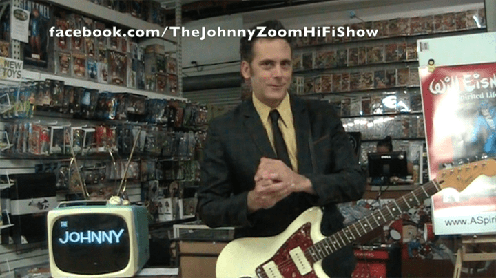 The Johnny Zoom Hi-Fi Show, Emerald City Comics, Mr. Media Interviews