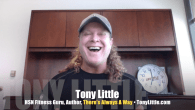 Today's Guest: Tony Little, HSN fitness, exercise guru, author, There's Always A Way   Watch this exclusive Mr. Media interview with TONY LITTLE by clicking on the video player above!  Mr....