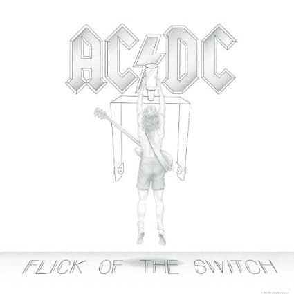 Flick of the Switch (Vinyl) by AC/DC, Brian Johnson, Mr. Media Interviews