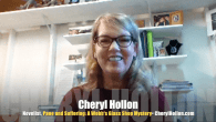 Today's Guest: Novelist Cheryl Hollon, author, Pane and Suffering: A Webb's Glass Shop Mystery, Shards of Murder.   Watch this exclusive Mr. Media interview with Cheryl Hollon by clicking on the video...