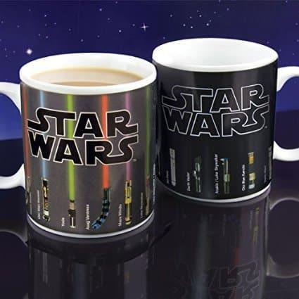 Star Wars Lightsaber Heat Change Mug, MerchandseOnline, Mr. Media Interviews