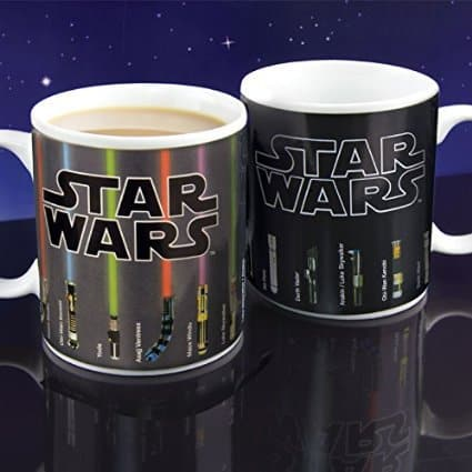 Star Wars Lightsaber Heat Change Mug, MerchandseOnline, Mr. Media Interviews