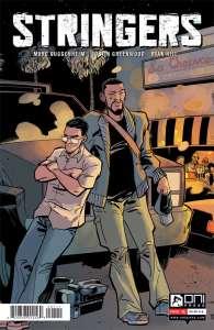 Stringers by Arrow showrunner Marc Guggenheim and Justin Greenwood, Oni Press, Mr. Media Interviews
