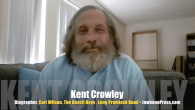 Today's Guest: Kent Crowley, author, The Beach Boys' Carl Wilson biography, Long Promised Road   Watch this exclusive Mr. Media interview with Kent Crowley by clicking on the video player...