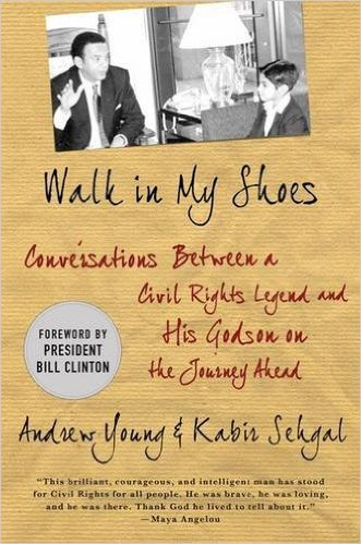 Walk in My Shoes: Conversations between a Civil Rights Legend and his Godson on the Journey Ahead by Andrew Young, Mr. Media Interviews
