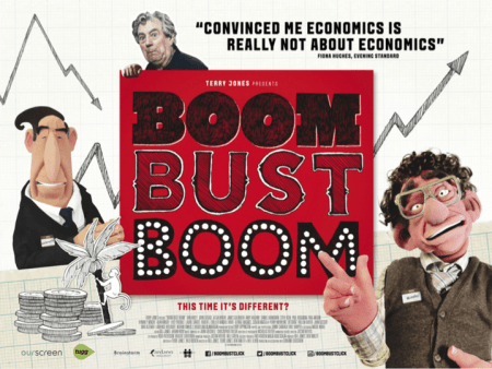Boom Bust Boom, a film by Bill Jones, Ben Timlett and Terry Jones, Mr. Media Interviews