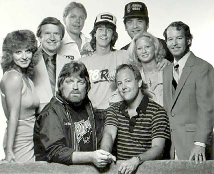 Cleveland Wheeler, Scott Shannon and the original Q Morning Zoo at WRBQ 105 FM, Tampa Bay, circa 1981