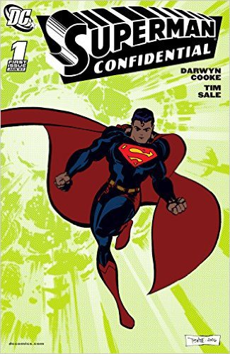 Superman Confidential (2006-) #1 by Darwyn Cooke, Mr. Media Interviews