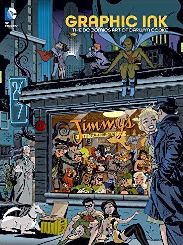 Graphic Ink: The DC Comics Art of Darwyn Cooke, Mr. Media Interviews
