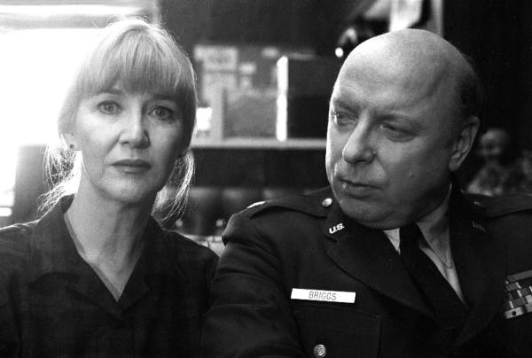 "From ""Twin Peaks"": Charlotte Stewart as Mrs. Betty Briggs and Don S. Davis as her husband, Major Garland Briggs., Mr. Media Interviews"
