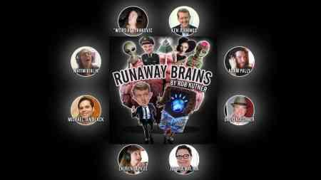 Runaway Brains, created by Rob Kutner, starring Ken Jennings and Weird Al Yankovic, Mr. Media Interviews