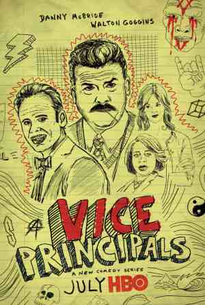HBO's new sitcom Vice Principals star Danny McBride, Walton Goggins and Sheaun McKinney, Mr. Media Interviews
