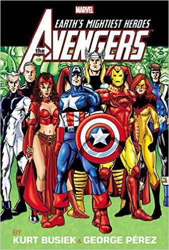 Avengers by Kurt Busiek & George Perez Vol. 2 Omnibus by Kurt Busiek and George Perez, Mr. Media Interviews