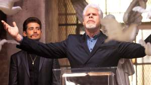 "Ron Perlman stars in ""Hand of God,"" now in its second season on Amazon Prime, Mr. Media Interviews"