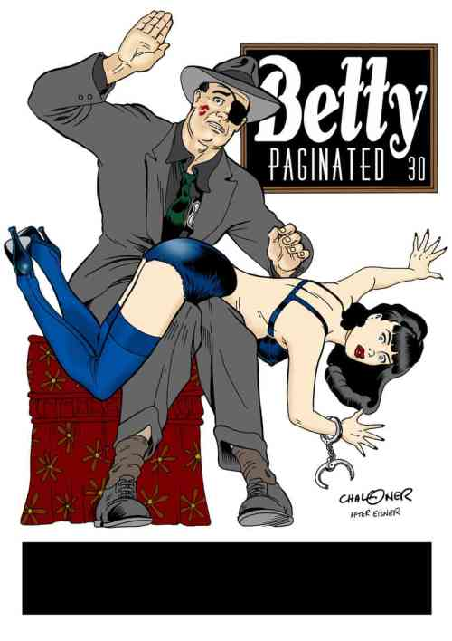 """""""Betty Paginated"""" by Gary Chaloner, Mr. Media Interviews"""