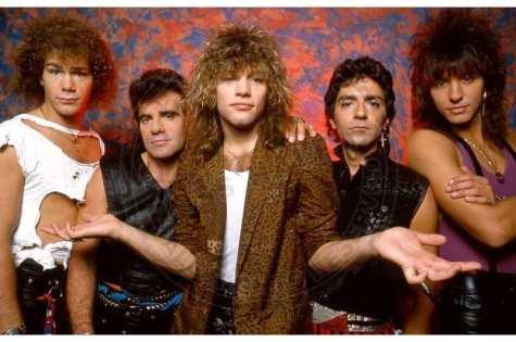 Bon Jovi, featuring Jon Bon Jovi, center, Mr. Media Interviews