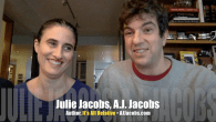 Today's Guest: A.J. Jacobs, author, It's All Relative: Adventures Up and Down the World's Family Tree, and his wife, Julie Jacobs     Watch this exclusive Mr. Media interview with...