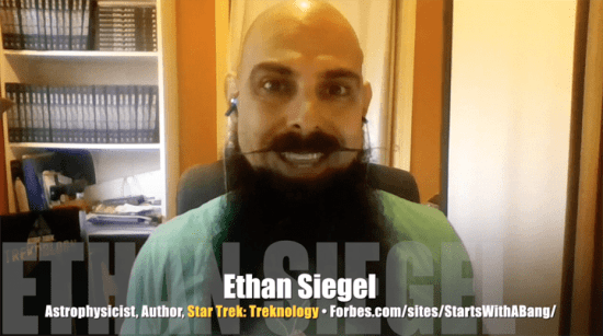 Ethan Siegel, astrophysicist and author,  <I>Star Trek Treknology</I>, Mr. Media Interviews