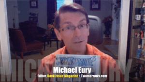 Michael Eury, editor, Back Issue magazine, Mr. Media Interviews