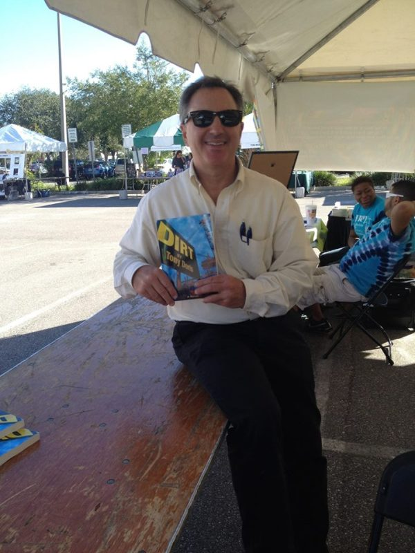 Tony Doris, Mr. Media Books, 2014 Tampa Bay TImes Festival of Reading, USF-St. Petersburg campus