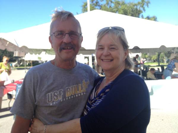 Jon Wilson, Becky Day Wilson, Mr. Media Books, 2014 Tampa Bay TImes Festival of Reading, USF-St. Petersburg campus