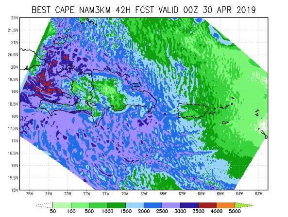 De fortes averses pourraient toucher plusieurs régions du pays aujourd'hui et demain 51