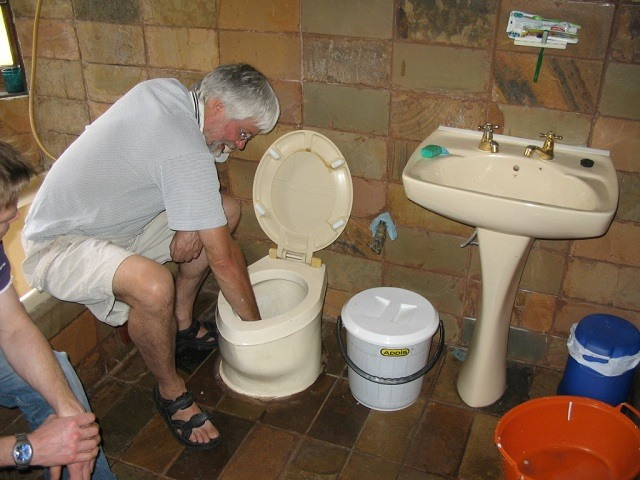 Cleaning Toilets