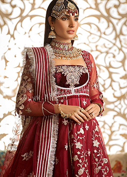 Noor By Saadia Asad Wedding Festive Embroidered - Original