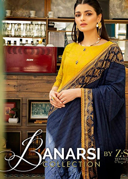 Banarsi Jacquard By Z.S Textiles - Original