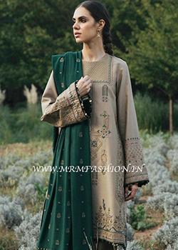 Zara Shahjahan Winter Shawl 2020 - Original