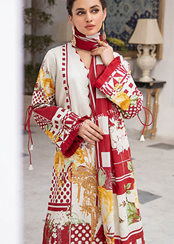 Jade Firdous Urbane Embroidered Lawn 2021 - Original