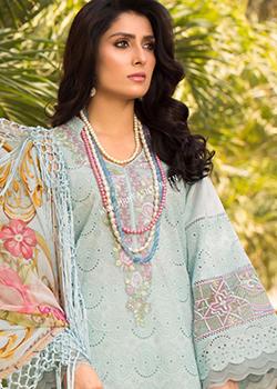Zoha Luxury Lawn By Ansab Jahangir 2021 - Original