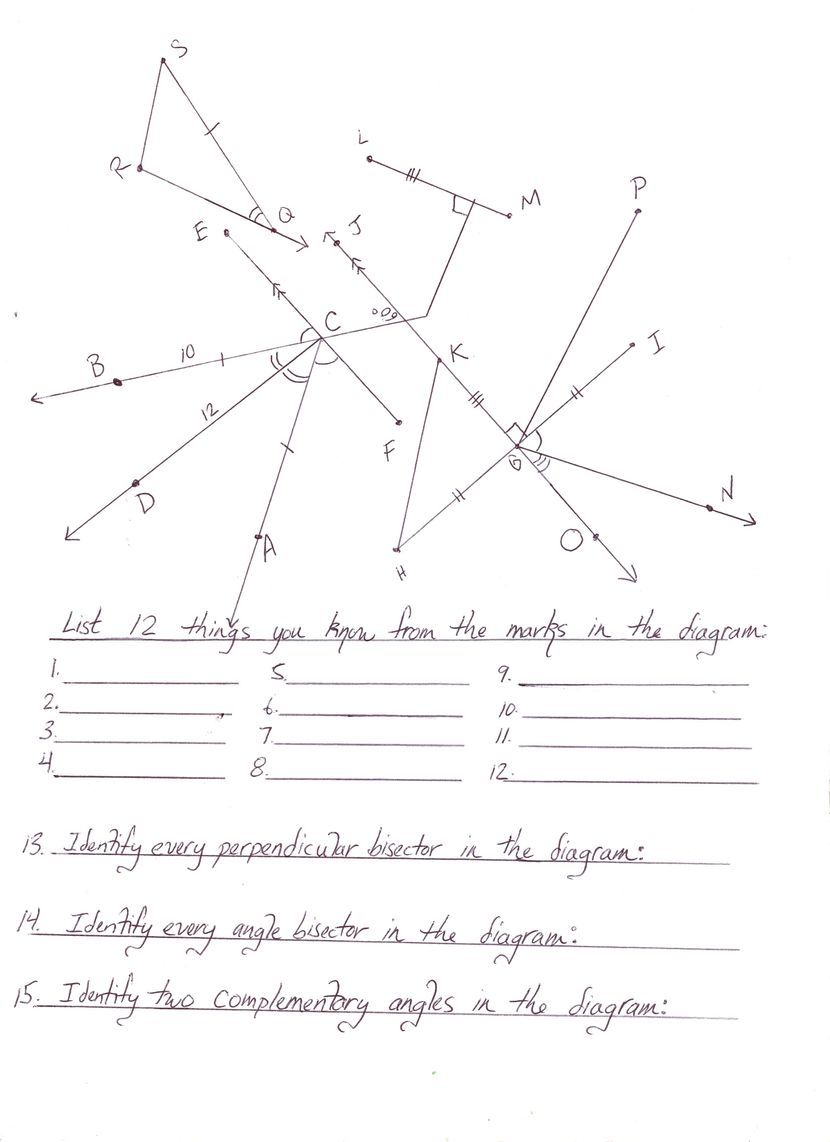Worksheet 9th Grade Geometry Worksheets Grass Fedjp