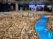 City Model Shanghai aerial view
