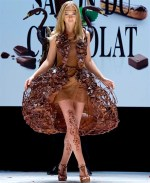 Chocolate High Fashion Dress