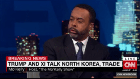 Mo'Kelly on CNN International Re: Trump Asia Trip (VIDEO)