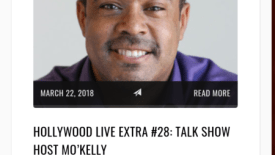 Mo'Kelly featured on 'Hollywood Live' with Tanya Hart (AUDIO)