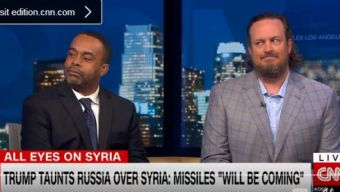 Mo'Kelly on CNN International Re: Syria * Steve Bannon Advice * Access Hollywood Tape (VIDEO)