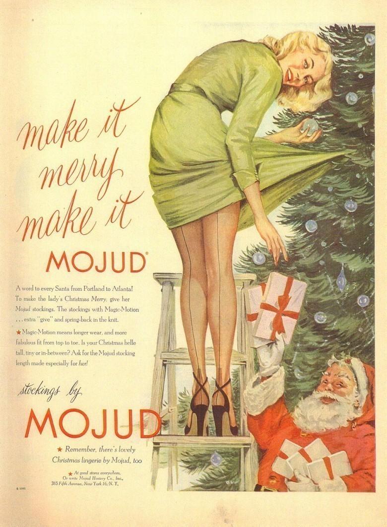 19 publicités sexistes de Noël improbables aujourd'hui