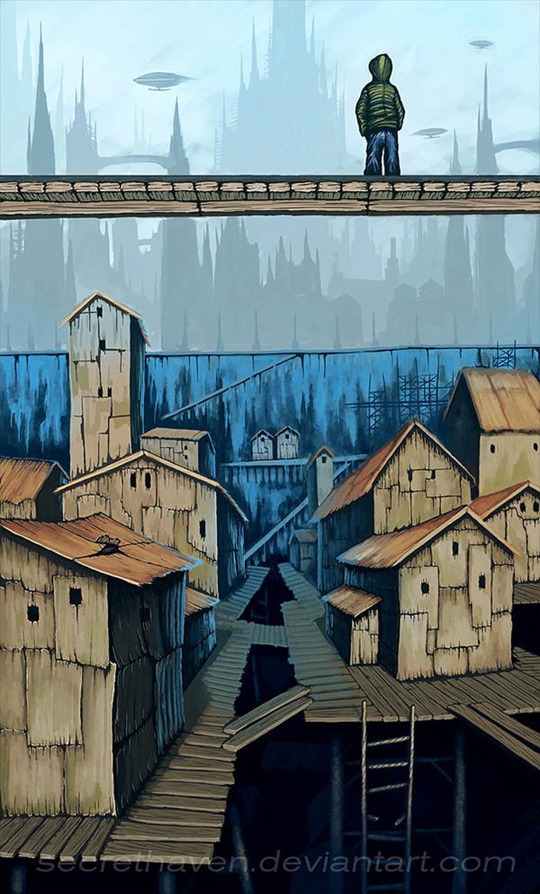 21 Visions Artistiques Des Villes Du Futur