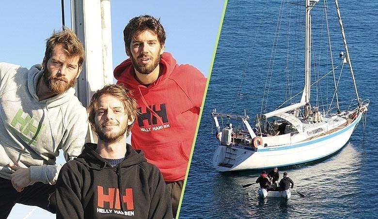 3 jeunes et un tour du monde en voilier pour offrir de l 39 eau potable. Black Bedroom Furniture Sets. Home Design Ideas