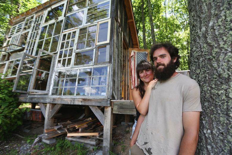 la cabane de verre ou l 39 art de construire la maison de ses r ves pour 500. Black Bedroom Furniture Sets. Home Design Ideas