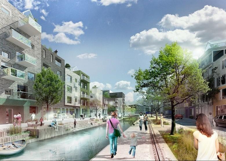 Gut gemocht En Suède, une ville écologique du futur sort de terre VT91