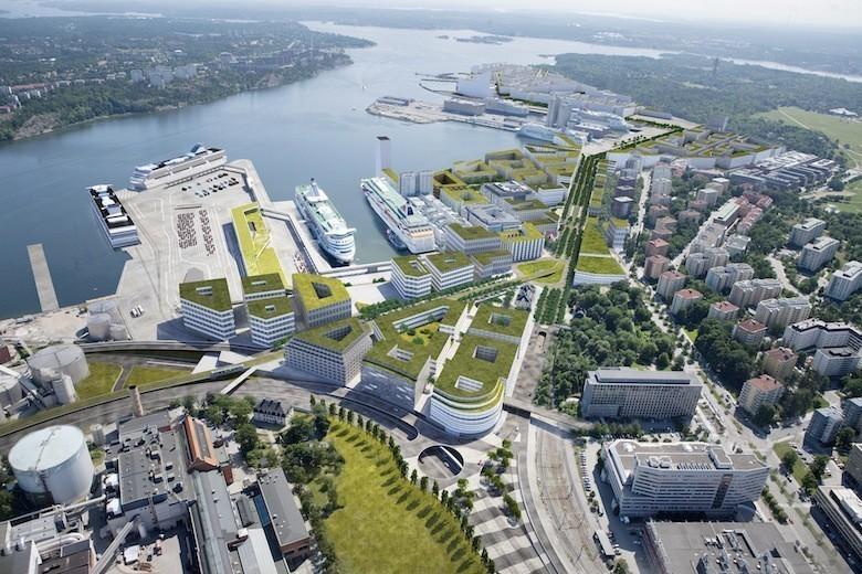 Favorit En Suède, une ville écologique du futur sort de terre DT17