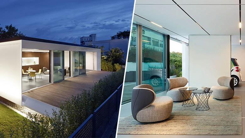 la premi re maison 0 nergie 0 mission 0 d chet et 100 recyclable. Black Bedroom Furniture Sets. Home Design Ideas